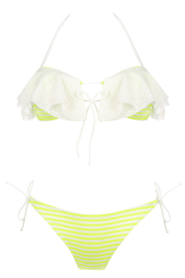 EDNA swimmwear  white - SHE swimsuits