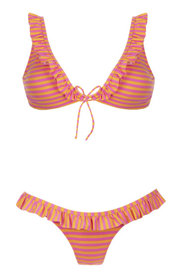 RABEL orange - SHE swimsuits