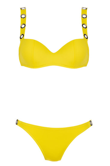 LACY swimmwear  yellow - SHE swimsuits