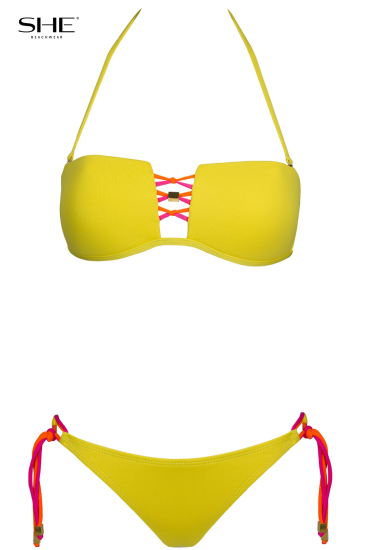 ANABELL yellow - SHE swimsuits