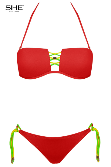 ANABELL Red - SHE swimsuits