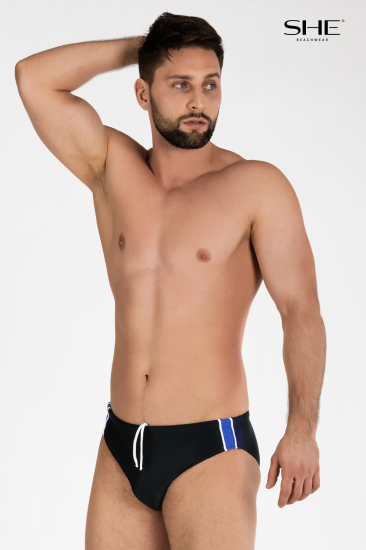 Swimming trunks K303 black - SHE swimsuits
