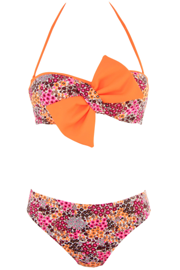 AVRIL swimsuit orange - SHE swimsuits