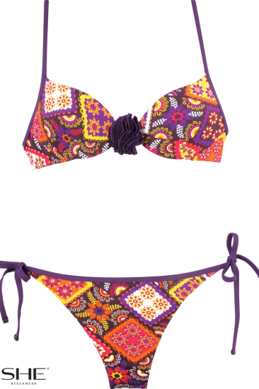 CHANTE swimsuit violet - SHE swimsuits