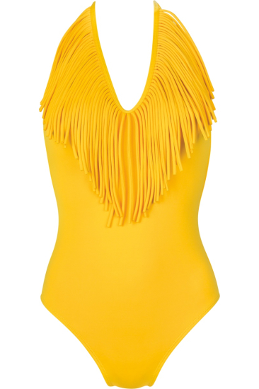 TERRI swimsuit yellow - SHE swimsuits