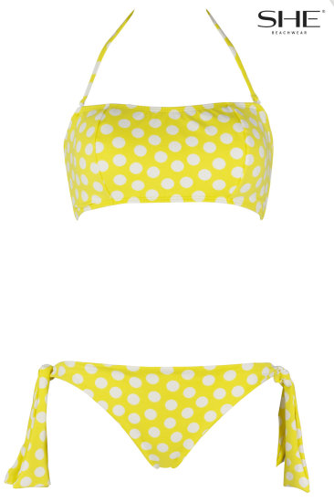 DANIELLE yellow - SHE swimsuits