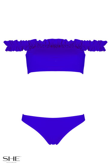 EVELYN medium blue - SHE swimsuits