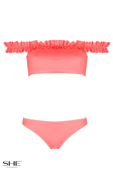 EVELYN Salmon pink - SHE swimsuits