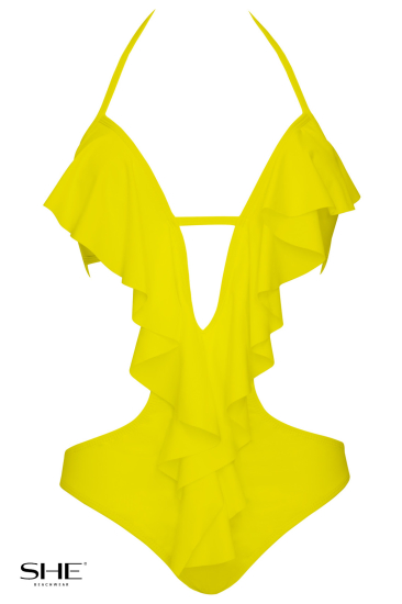 EVITA yellow - SHE swimsuits