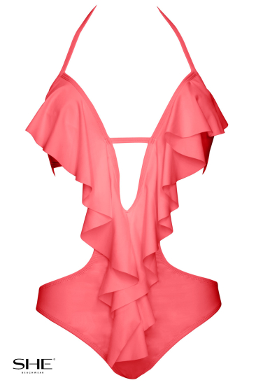 EVITA Salmon pink - SHE swimsuits