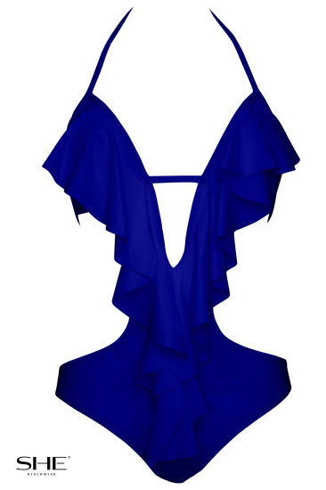EVITA medium blue - SHE swimsuits