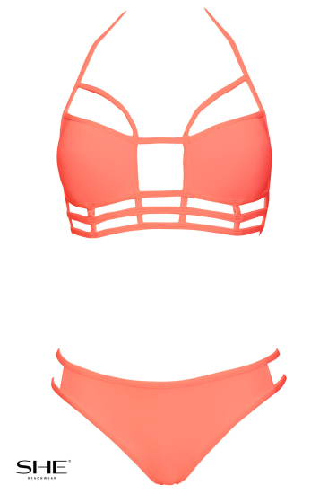 GRACE Salmon pink - SHE swimsuits