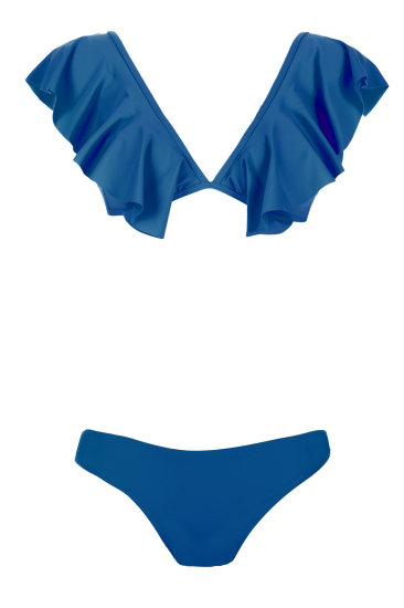 IRIS    medium blue - SHE swimsuits