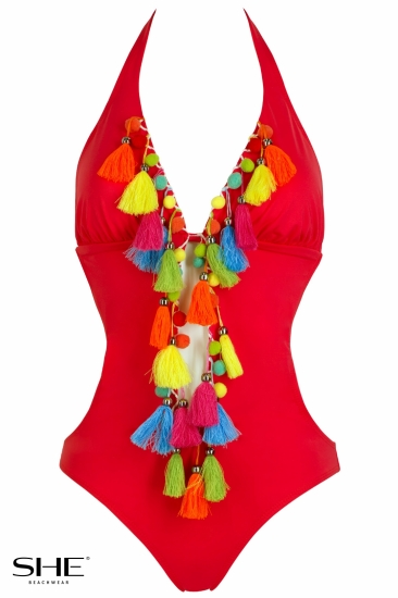 LOLITA wild strawberry - SHE swimsuits