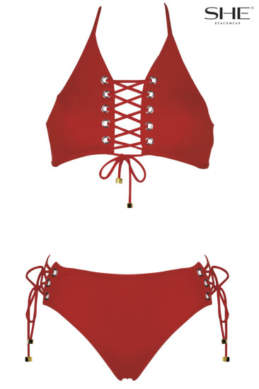MEGAN wild strawberry - SHE swimsuits