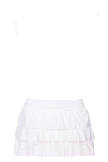 Mini skirt white - SHE swimsuits