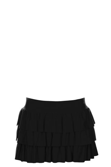 Mini skirt black - SHE swimsuits