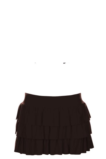 Mini skirt brown - SHE swimsuits