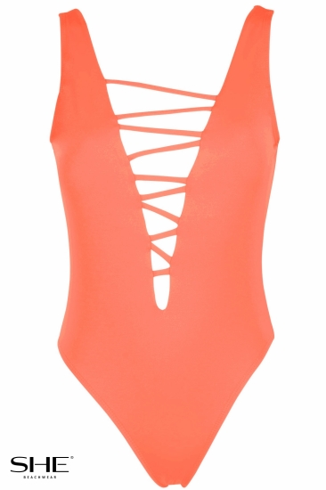 OLIVIA  Salmon pink - SHE swimsuits