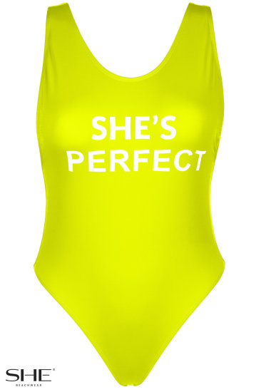 PENELOPE yellow - SHE swimsuits