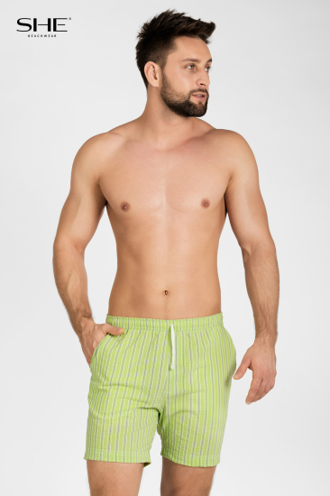 Swimming shorts S106 green - SHE swimsuits