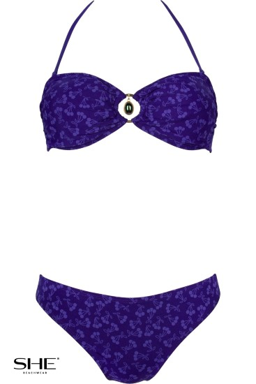 CANDY swimsuit navy blue - SHE swimsuits