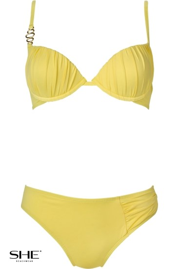 CHARLIE swimsuit yellow - SHE swimsuits
