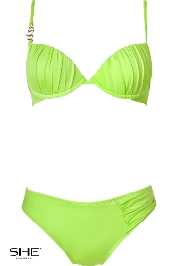 CHARLIE swimsuit green - SHE swimsuits