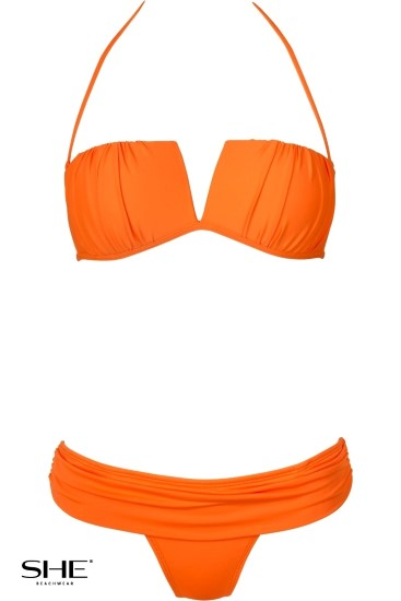 HAVEN swimsuit orange - SHE swimsuits
