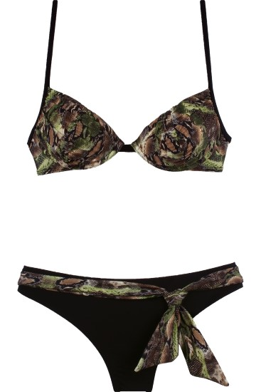 ISABEL swimsuit green - SHE swimsuits