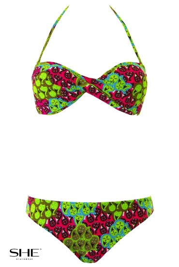 LIBY swimsuit green - SHE swimsuits