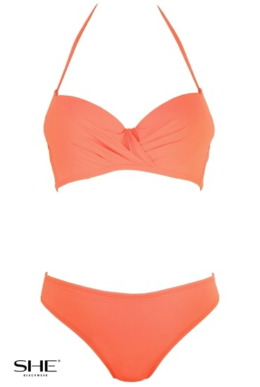 LOLA swimsuit orange - SHE swimsuits