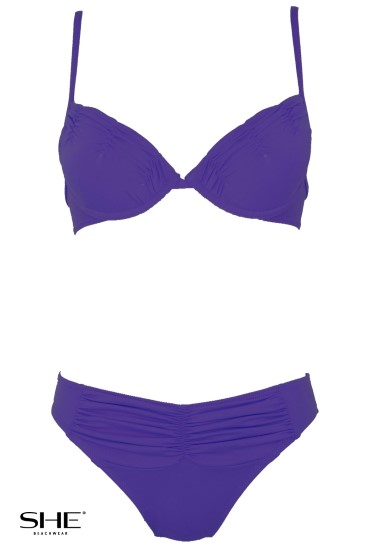 MANDY swimsuit violet - SHE swimsuits