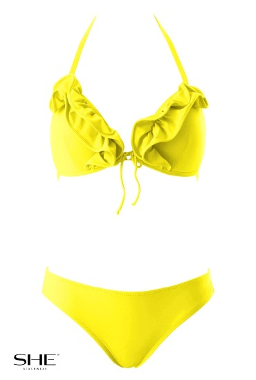NIKKA swimsuit yellow - SHE swimsuits