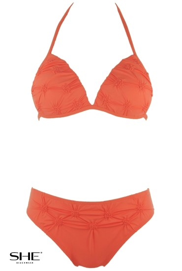 RITA swimsuit Orange - SHE swimsuits