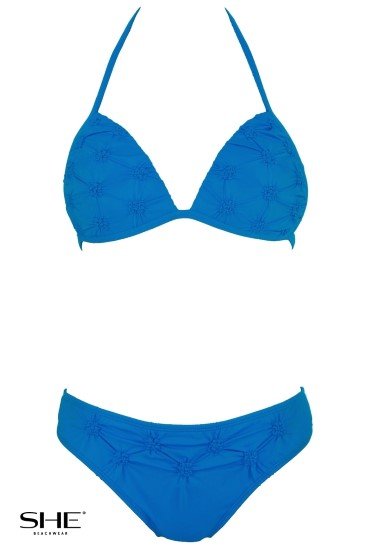 RITA swimsuit medium blue - SHE swimsuits