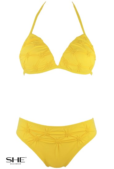 RITA swimsuit yellow - SHE swimsuits