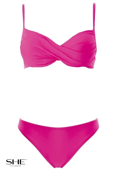 STELLA swimsuit pink - SHE swimsuits