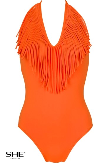 TERRI swimsuit orange - SHE swimsuits