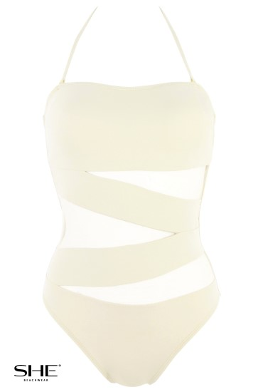 TIFFANY swimsuit creamy - SHE swimsuits