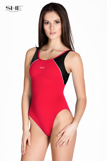 Swimsuit P10 (1CD41) Red - SHE swimsuits