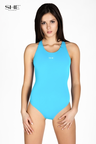 Swimsuit P11 (1CD30) cerulean - SHE swimsuits
