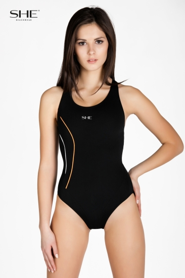 Swimsuit P12 (1CD43) black - SHE swimsuits