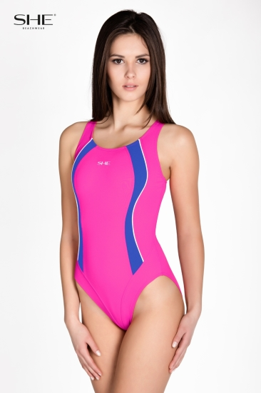Swimsuit P13 (1CD46) pink - SHE swimsuits
