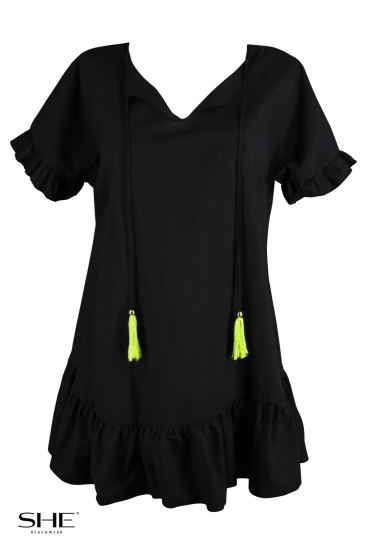 TUNIC black - SHE swimsuits