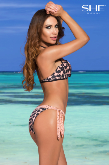 MELODY swimsuit, plecy - SHE Beachwear