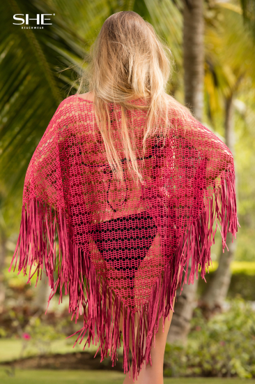 PONCHO, plecy - SHE Beachwear