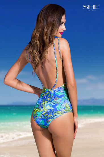 PRISCILLA swimsuit, plecy - SHE Beachwear