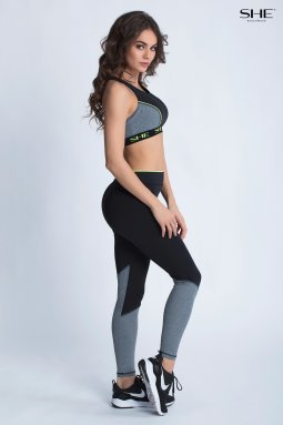 SIENA TOP Komplet Fitness, plecy - SHE Beachwear